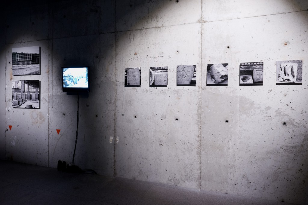 Pınar Öğrenci Evolution of the Sacred: Stone and Concrete Photograph, 48x68 cm, 2014, 8+1AP Courtesy of the artist, Photograph by: Andreas Nader
