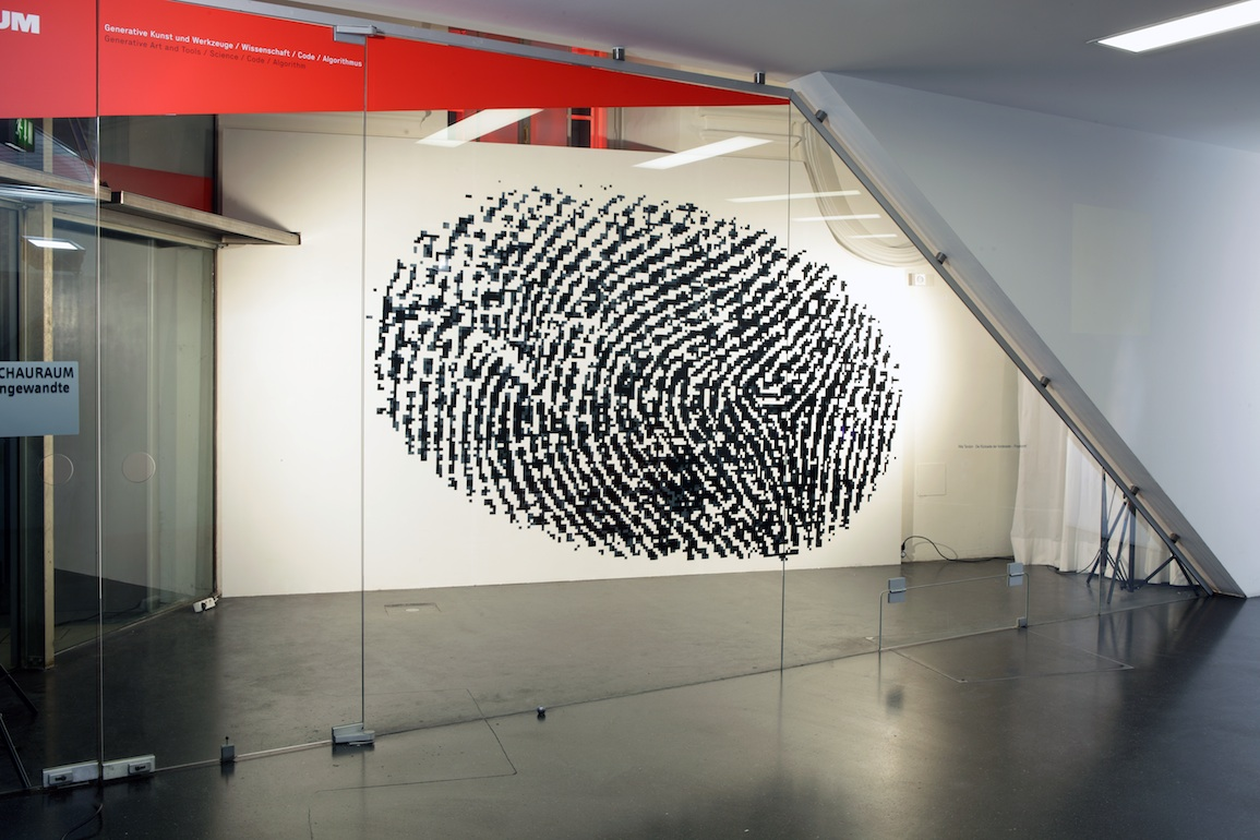 Nita Tandon, Fingerprint Erased, performance video, 2012, MuseumsQuartier, Vienna, Austria