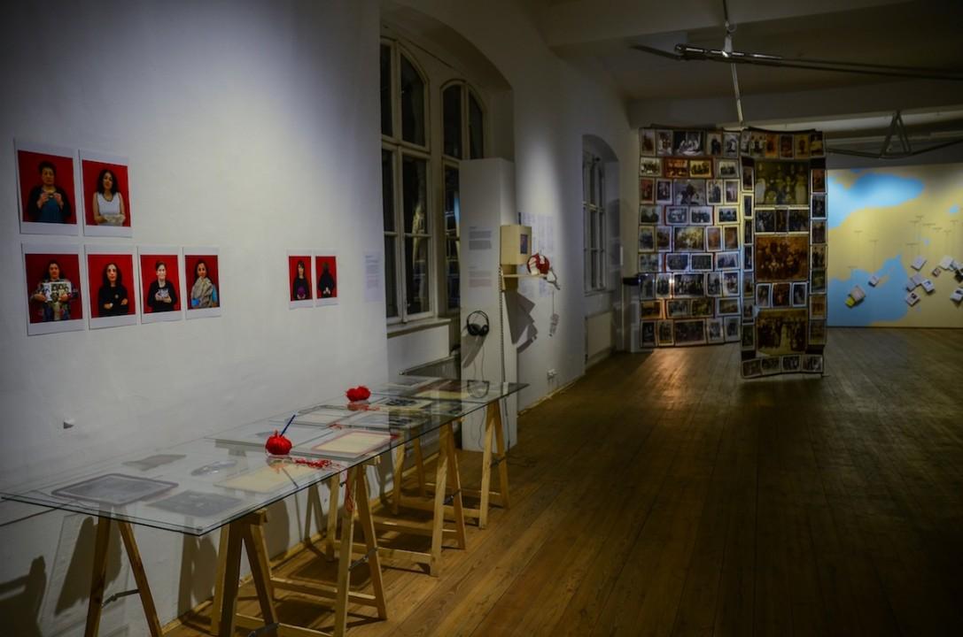 Silvina Exhibition view