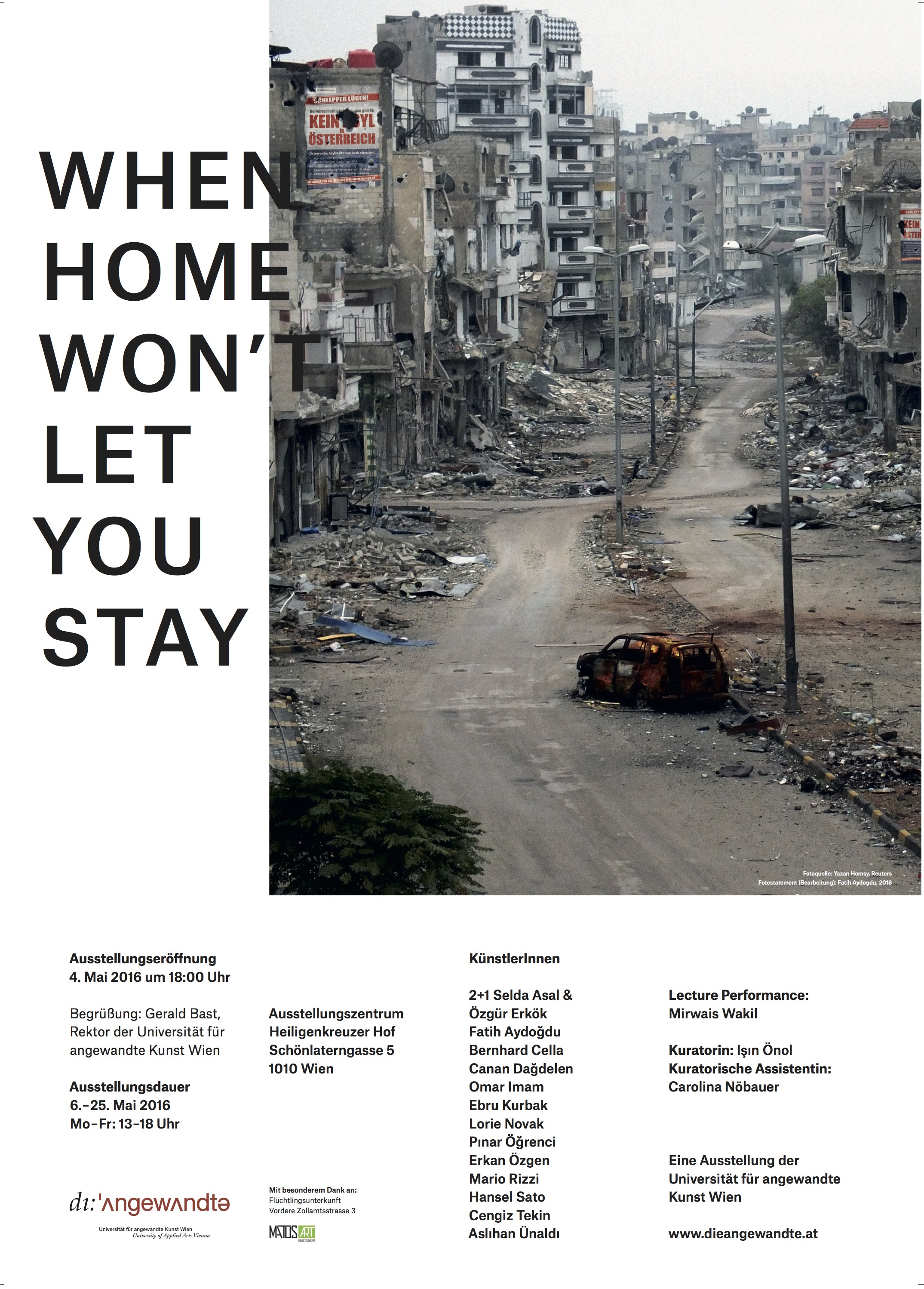when home won\'t let you stay : Işın Önol